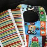 Bib and Two Burp Cloth Set ..