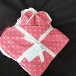 Hooded Towel With Matching..