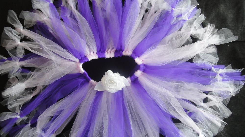 Petticoat Tutu in Purple and Lavender